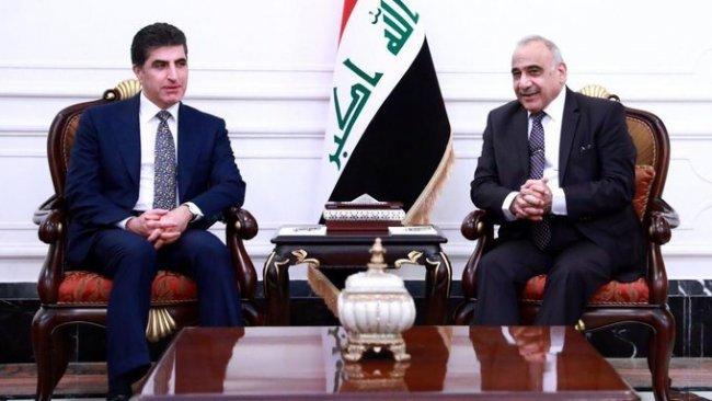 Başkan Neçirvan Barzani Bağdat'ta