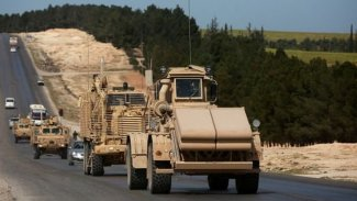 ABD'den Rojava'ya hava gücü korumalı askeri konvoy