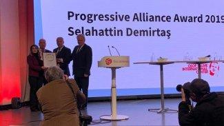 Demirtaş'a 'Siyasi Cesaret Ödülü'