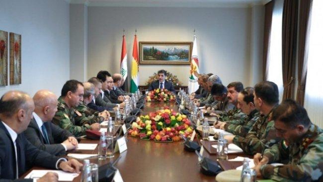 Kürdistan'da ortak ordu çalışmaları devam ediyor