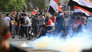 Bağdat'ta bazı mağazaların deposu yakıldı