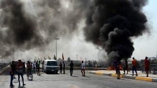 Bağdat'ta Yeşil Bölge yakınına füze saldırısı