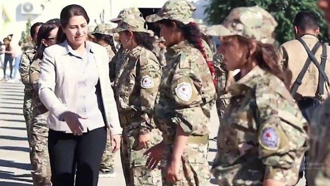 Koalisyon'dan YPJ'ye Kürtçe tebrik mesajı