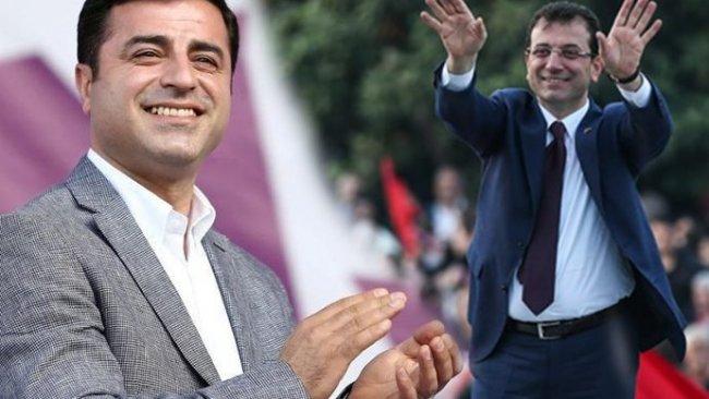 AK Parti anketinde Demirtaş ve İmamoğlu öne çıktı