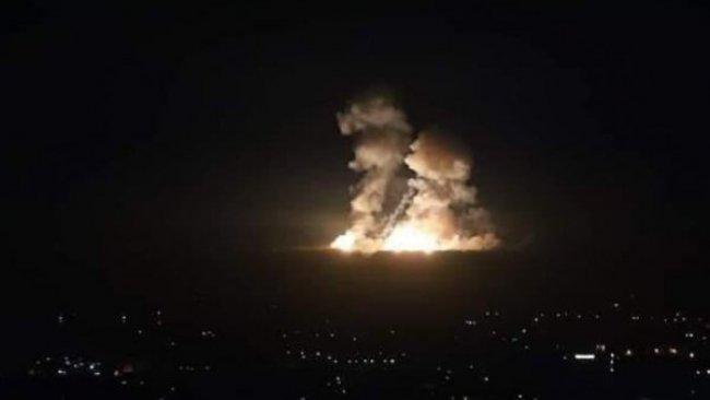 İsrail, Suriye'de  İran hedeflerini vurdu