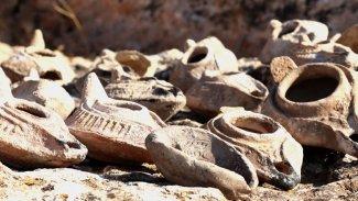 Kürt ilinde 500 yıllık kandiller bulundu