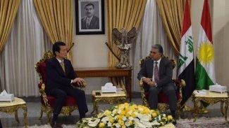 Güney Kore'den Kürdistan Bölgesi'ne destek