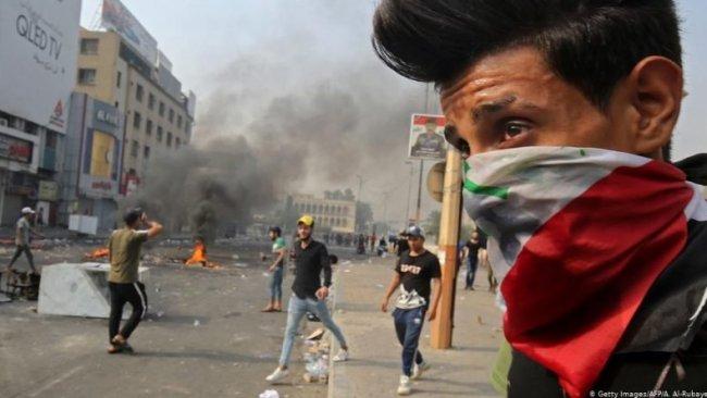 Bağdat'taki gösterilerde 4 kişi yaşamını yitirdi