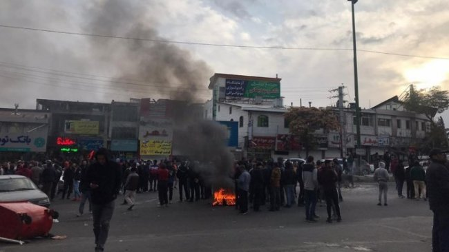 İran ve Rojhilat'ta protestolar 8. gününde