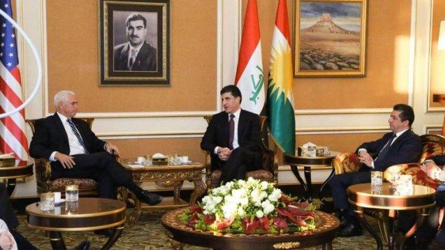 ABD Başkan Yardımcısı Mike Pence Erbil'de