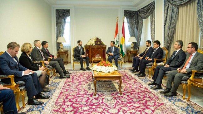 Başbakan Barzani, ABD Senatosu heyetiyle görüştü
