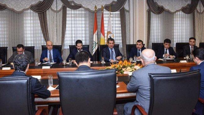 Başbakan Barzani, Bağdat'tan dönen heyetle bir araya geldi