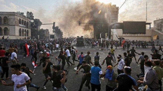 Irak'ta gösterilerde 7 kişi öldü