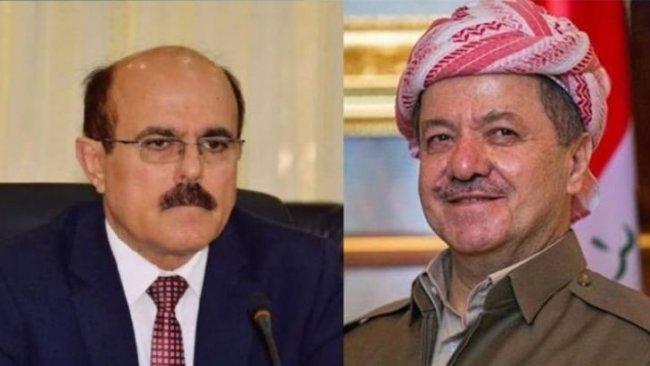 Başkan Barzani'den Zehmetkeşan liderine tebrik