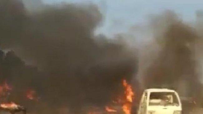 Serekaniye'de patlama:  Ölü ve yaralılar var