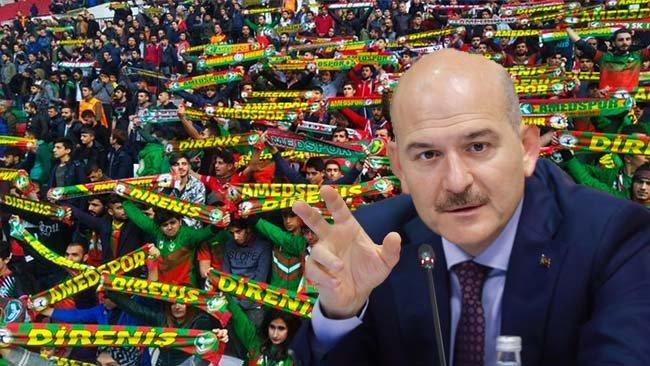 Süleyman Soylu'dan Amedspor-PKK iddiası