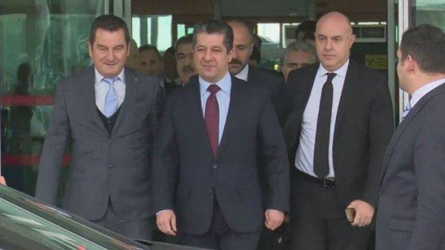 Başbakan Mesrur Barzani Ankara'da