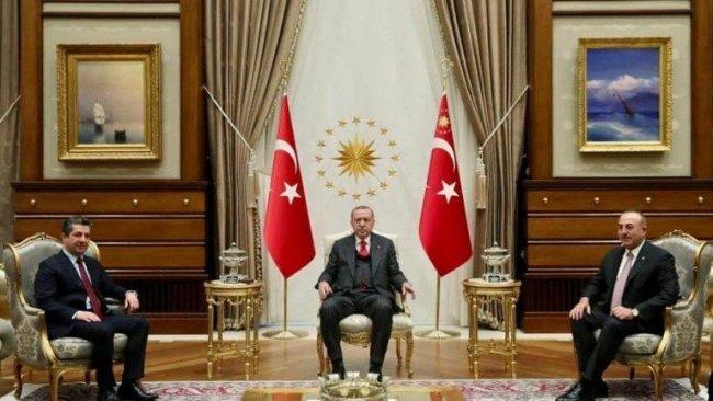 Başbakanlıktan Mesrur Barzani'nin Ankara ziyaretine ilişkin açıklama