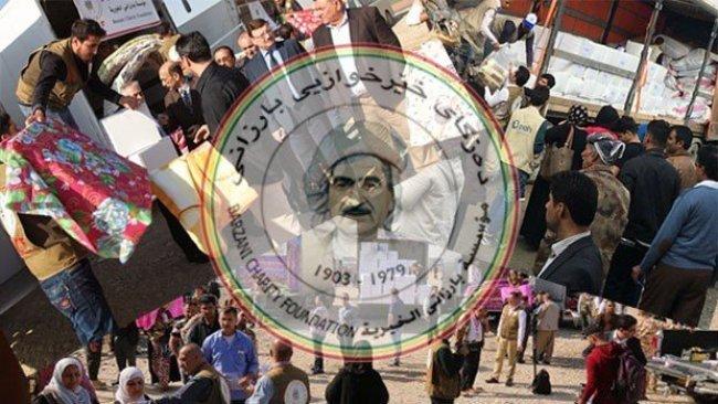 Barzani Yardım Vakfı'ndan Rojava'ya 5. yardım konvoyu