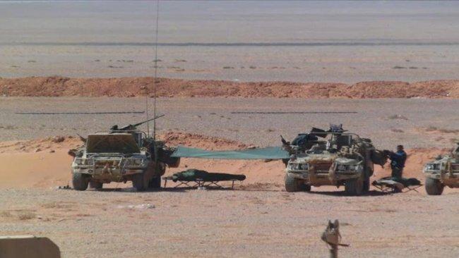 Rojava'daki İngiliz güçleri yer değiştirdi