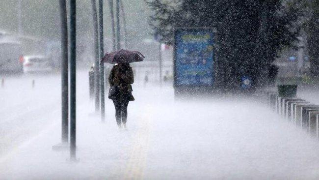 Beş Kürt ili için kuvvetli yağış uyarısı