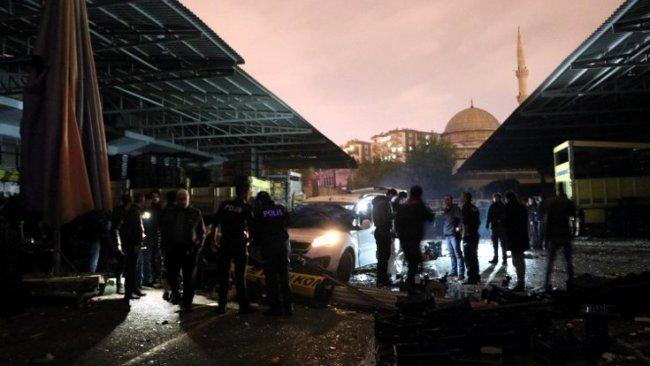Diyarbakır'da patlama: 1 ölü, 2 yaralı