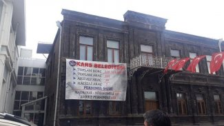 HDP'li Kars Belediyesi çalışanlarının maaşına haciz