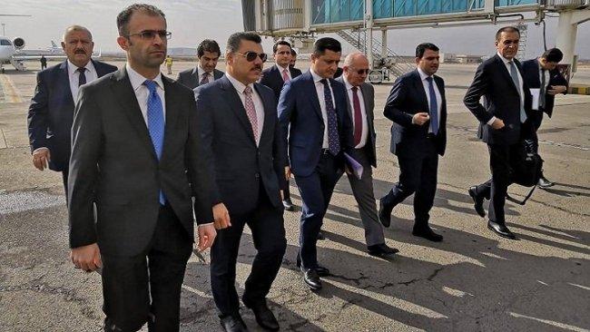 Kürdistan Bölgesi heyeti nihai anlaşma için Bağdat'ta