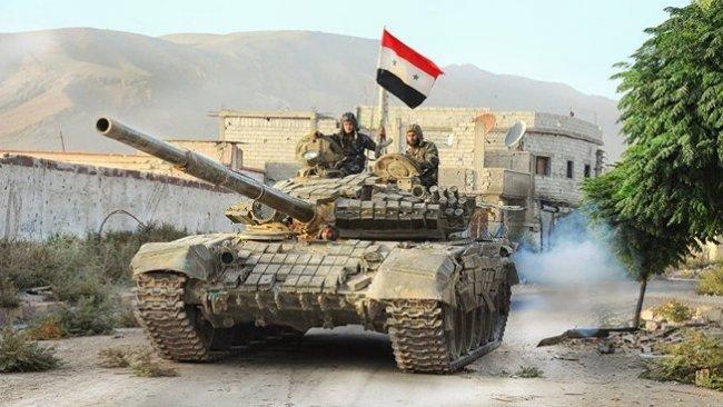 Suriye ordusu SMO'ya karşı kapsamlı saldırı başlattı