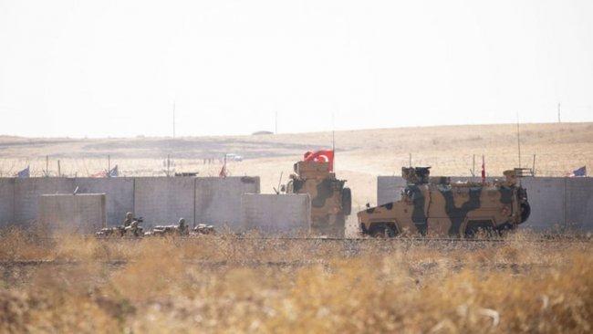 Türkiye, Rojava'da yol kontrol noktası inşa ediyor