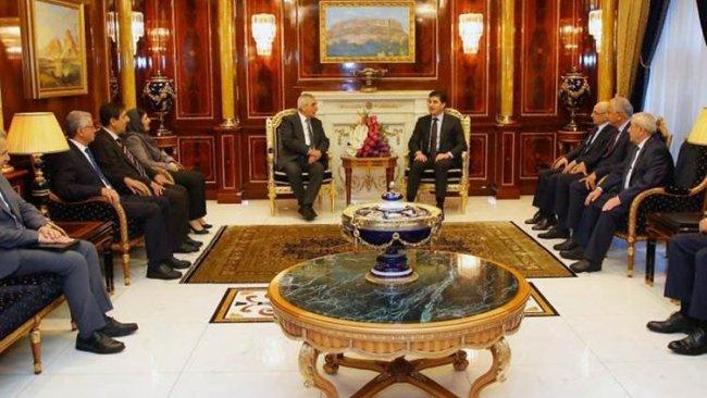 Başkan Neçirvan Barzani, ENKS heyeti ile Rojava'yı görüştü
