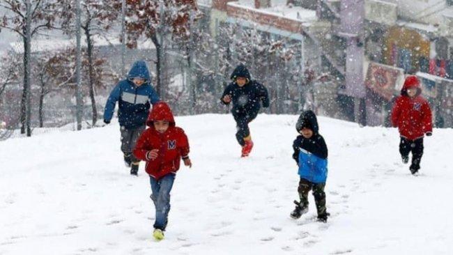 Kürt ilinde okullara kar tatili