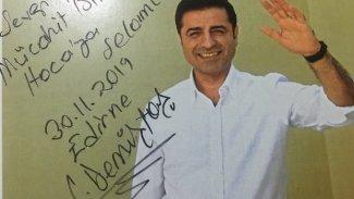 Selahattin Demirtaş'tan yazar Mücahit Bilici'ye mektup