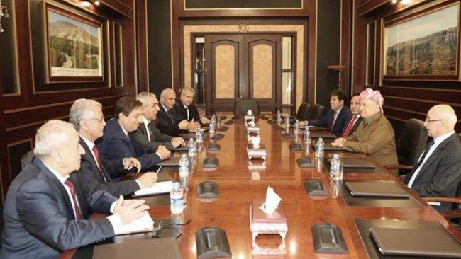 Başkan Barzani ve ENKS'den 'Rojava' toplantısı