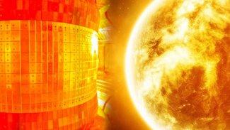 'Yapay güneş' resmen tamamlandı...Güneşten 13 kat daha sıcak!