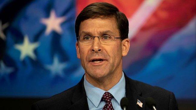 ABD Savunma Bakanı Esper'den Rojava açıklaması