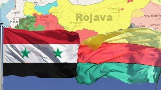Şam Yönetimi'nden Rojava'ya üst düzey ziyaret