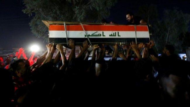 Bağdat'ta dün göstericilere ateş açıldı: 21 ölü, 123 yaralı