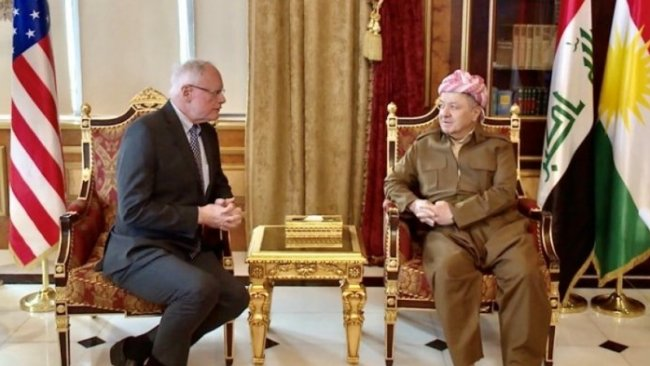 Başkan Barzani, James Jeffrey ile görüştü