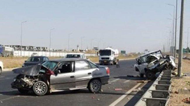 Erbil ve Koye'de trafik kazası: 5 ölü