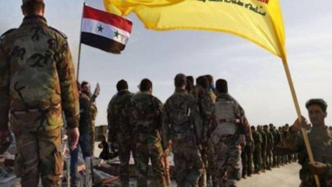 Rojava'da Suriye Ordusu ile DSG'den bir ilk