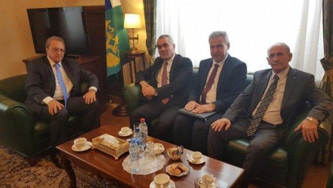 ENKS heyeti Rusya Dışişleri Bakan Yardımcısı ile görüştü