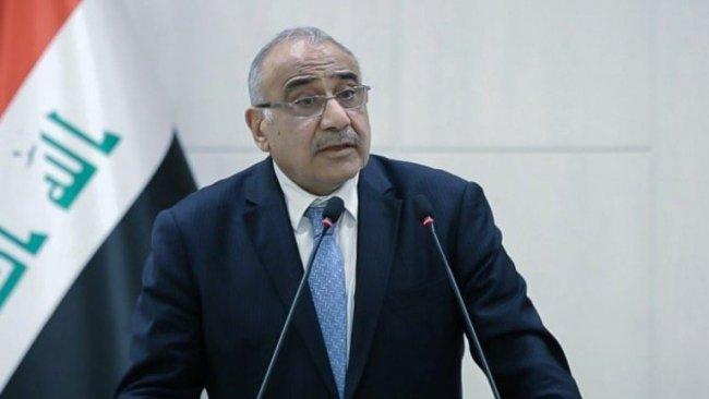 Görevinden İstifa eden Abdulmehdi'den Peşmerge'ye teşekkür