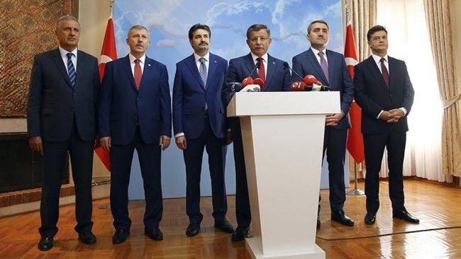 Davutoğlu'nun kuracağı partinin sloganı belli oldu