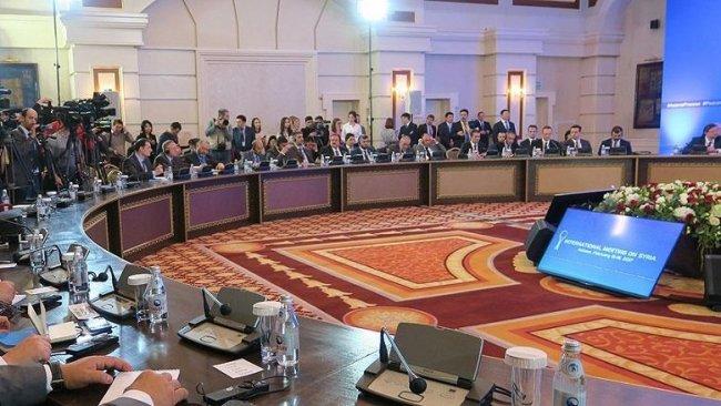 Suriye konulu 14. Garantörler Toplantısı başladı
