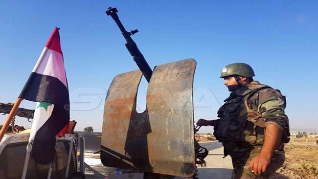 Suriye güçleri M4 Karayolu'nu kontrol etti
