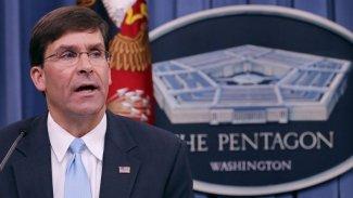 ABD Savunma Bakanı Esper: IŞİD'i yenmek için Kürtlerle el sıkıştık