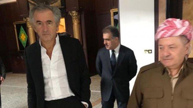 Henri Levy'den Başkan Barzani'ye ziyaret