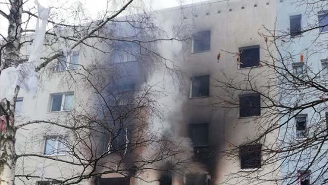 Almanya'da patlama: En az 25 yaralı