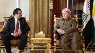 Başkan Barzani ile Kuveyt Başkonsolosu'ndan dostluk vurgusu